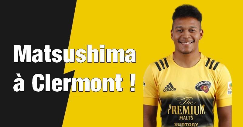 [TRANSFERT] Top 14 - Kotaro Matsushima à Clermont, c'est OFFICIEL !