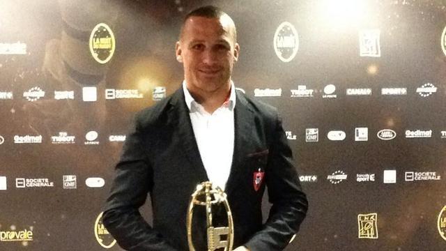 Nuit du Rugby - Matt Giteau meilleur joueur du Top 14, Brice Dulin meilleur joueur international français
