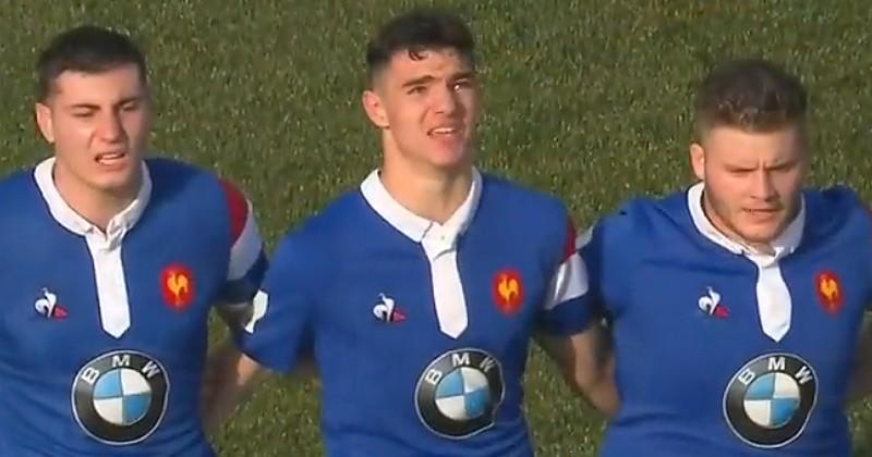 France U20 - Matthias Haddad-Victor : ''on m'a toujours dit : aux jambes, ça tombe''