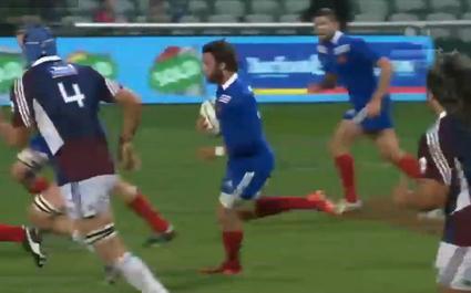 RESUME VIDEO. France - Auckland Blues avec les essais de Nakaitaci, Kayser et Fickou