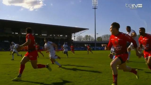 VIDEO. Pourquoi Maxime Mermoz n'a-t-il pas servi James O'Connor alors qu'il réclamait le ballon ?