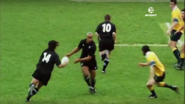 VIDEO. FLASHBACK. 2000. Mehrtens, Umaga, Lomu et Cullen se combinent pour une action d'anthologie