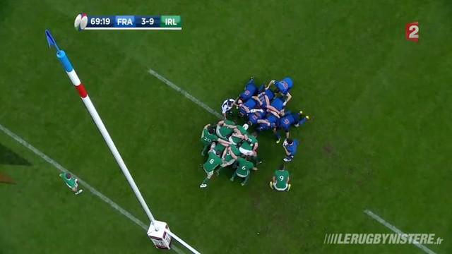 VIDEO. 6 Nations. XV de France - Irlande : les mêlées des Bleus analysées
