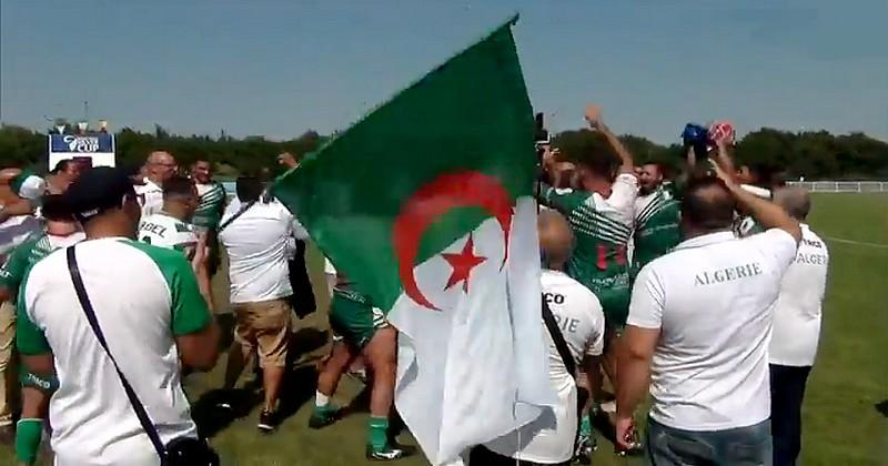 Moment historique pour la Fédération algérienne désormais membre affilié de World Rugby