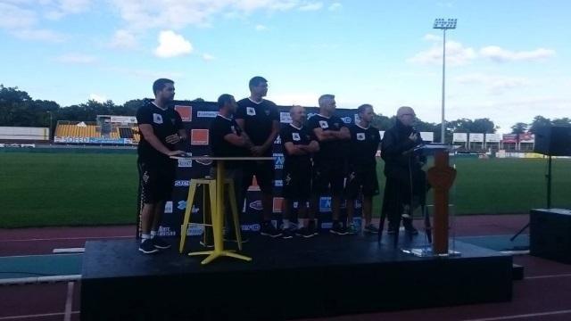 PHOTO. Pro D2 : les nouveaux maillots de Mont-de-Marsan pour la saison 2016/2017