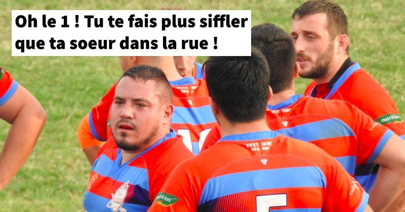 Le TOP des pires insultes entendues sur un terrain de rugby amateur !