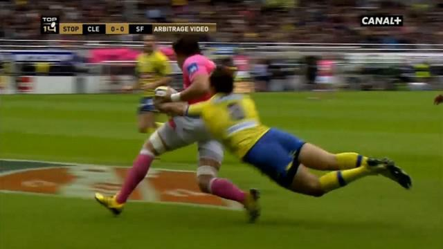 VIDEO. Top 14 - ASM. Morgan Parra réalise le plus beau sauvetage de filou de la saison