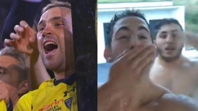 Clermont : Morgan Parra rencontre les supporters venus se baigner nus chez lui... et retire finalement sa plainte