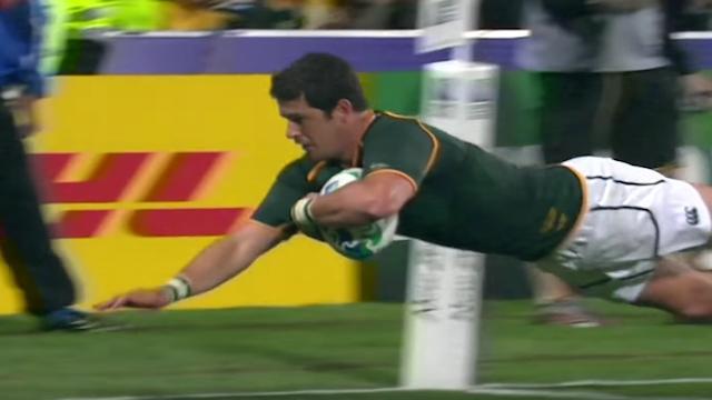 VIDEO. Morné Steyn dit adieu aux Springboks