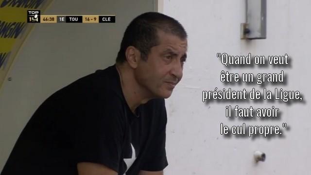 VIDÉO. Mourad Boudjellal dénonce l'injustice des élections et s'inquiète pour l'avenir du rugby français