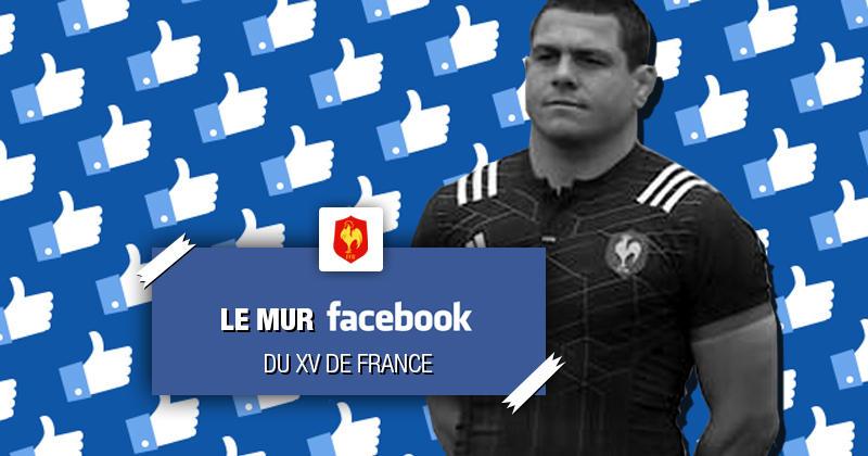 Mur Facebook du XV de France - Tournée d'automne 2018