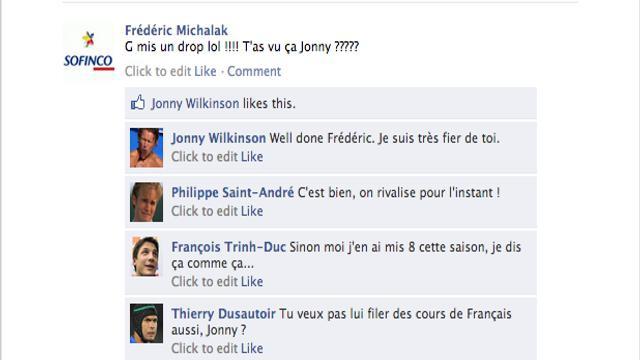 Le mur Facebook du XV de France, épisode 5