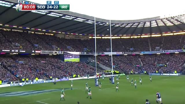 VIDEO. 6 Nations : le vibrant Flower of Scotland entonné par Murrayfield sur la dernière pénalité de Greig Laidlaw