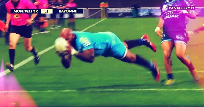 Top 14 - Nadolo s'offre un triplé mais Montpellier se fait peur contre Bayonne [RÉSUMÉ VIDÉO]