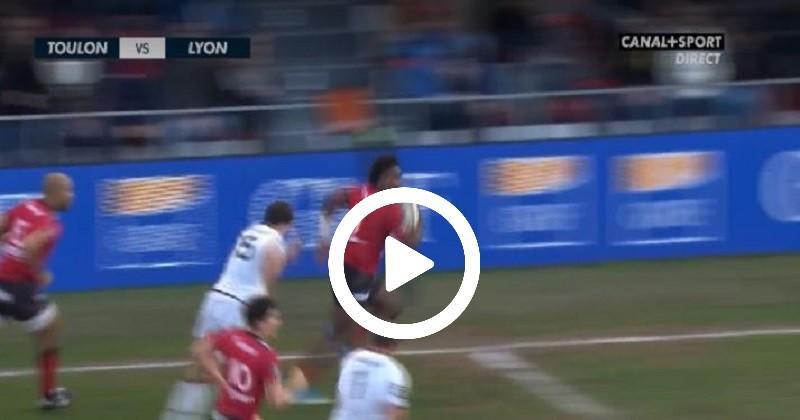 Triplé de Nakosi et victoire bonifiée pour Toulon face à Lyon [VIDEO]