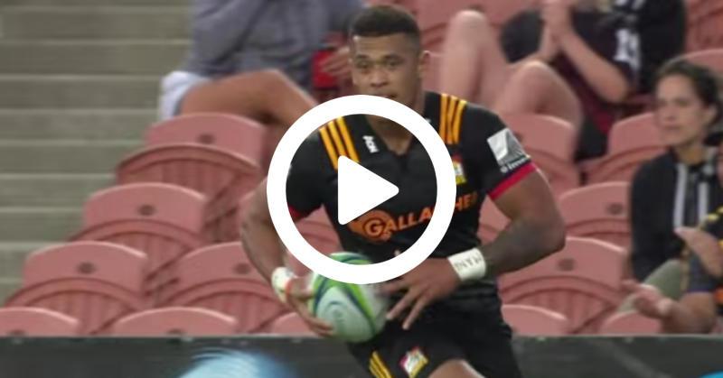 Super Rugby – Nanai-Seturo à l'honneur pour sa première avec les Chiefs [VIDÉO]