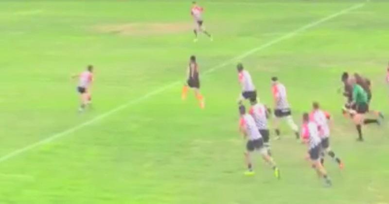 Narbonne : pour son premier ballon, David Smith mystifie la défense avec un magnifique pas de l'oie ! [VIDEO]