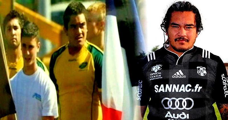 Né à Wallis-et-Futuna, il se rêvait Wallaby mais a trouvé son équilibre ici en France