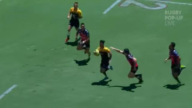 VIDEO - BRISBANE 10s : Nehe Milner-Skudder fait l'amour à la défense du RCT