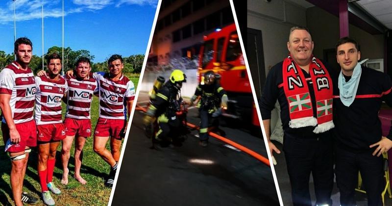 Ancien joueur pro, Nelson Gomes a retrouvé chez les pompiers les valeurs du rugby