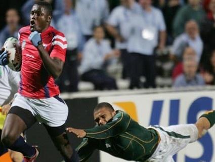 Ngwenya enrhume Habana lors de la Coupe du Monde 2007
