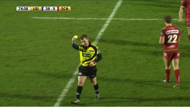VIDEO. INSOLITE. Nigel Owens distribue un carton jaune à un jeune ramasseur de balle