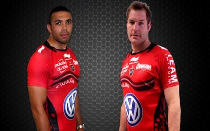 RC Toulon : le nouveau maillot 2013-2014