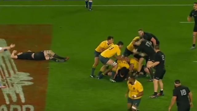 VIDÉO. All Blacks - Australie. Dean Mumm coupable d'un coup de coude sur Brodie Retallick ?