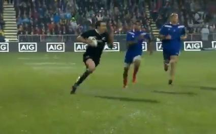 VIDEO. Les contre-attaques foudroyantes des All Blacks face au XV de France