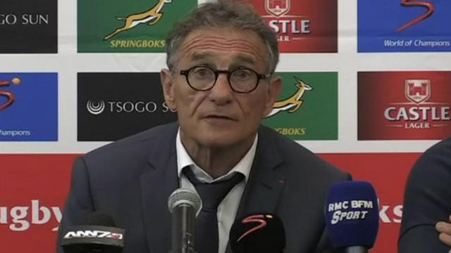 Des motifs de satisfaction pour Novès, Allister Coetzee fier de ses joueurs : les réactions après la 2e défaite des Bleus en Afrique du Sud