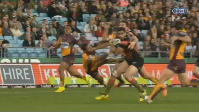 VIDEO. NRL - La performance surpuissante de Greg Inglis contre les Broncos