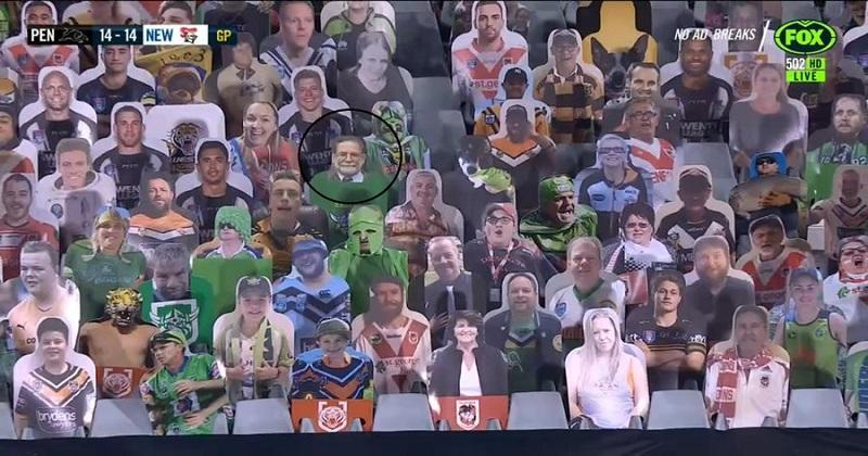 NRL - Un tueur en série s'infiltre au milieu des supporters en carton
