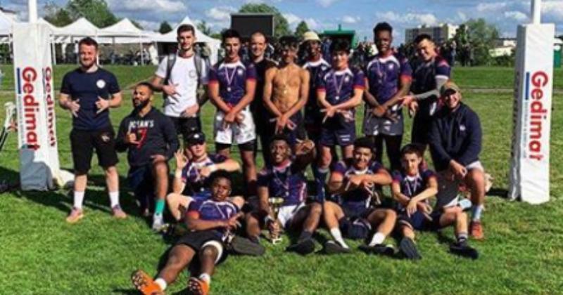 Le rugby à 7 ouvert aux U18 grâce à Ocean's Seven