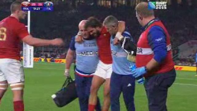 Officiel : Yoann Huget forfait pour le reste de la Coupe du monde, son remplaçant connu