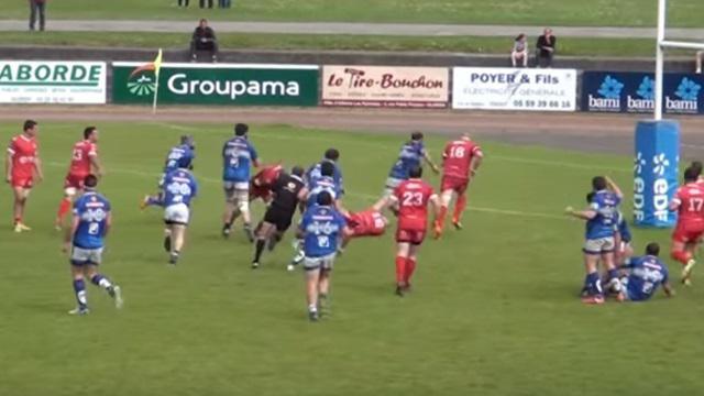 RESUME VIDEO. Fédérale 1 - Jean-Prat : Oloron se qualifie sans trembler face à Langon