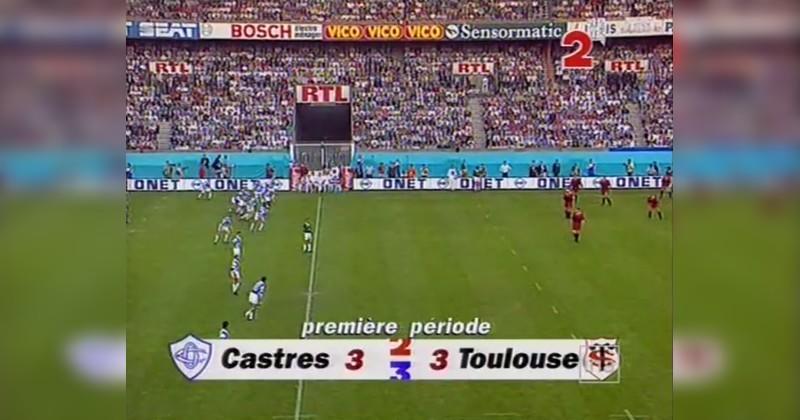 VIDEO. On a revu la finale légendaire du championnat de France 1995 : Castres - Toulouse