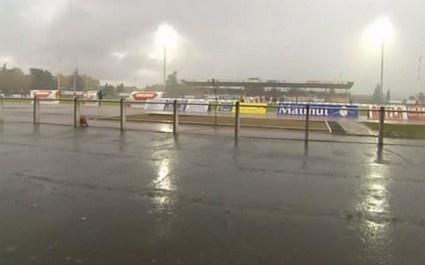 Un orage interrompt le match entre Tarbes et Aix