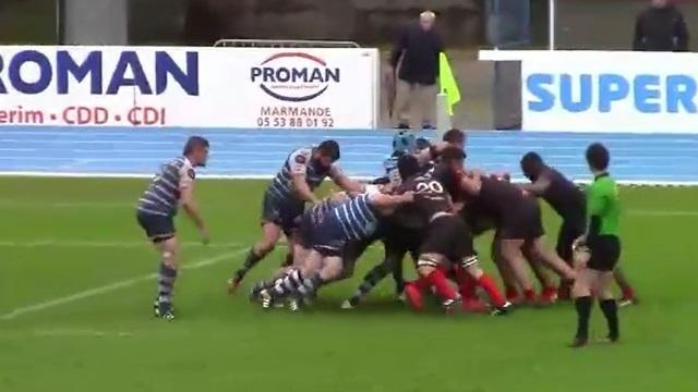 VIDEO. Rugby amateur : les quinze joueurs d'Orthez forment une cocotte sur 30 mètres et arrachent la qualification