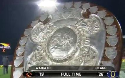 VIDEO. Otago remporte le Ranfurly Shield pour la première fois depuis 1957