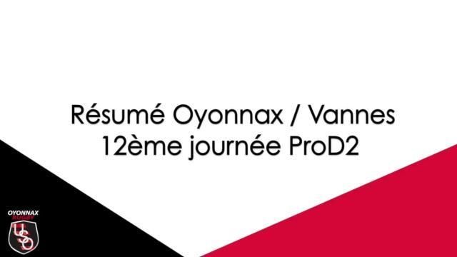 Oyonnax enchaîne une sixième victoire consécutive en dominant Vannes sur sa pelouse