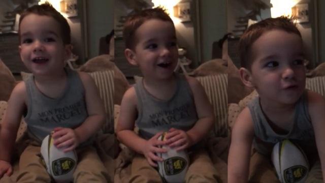 VIDEO. À 2 ans, Pablo est fan du Stade Rochelais et le supporter le plus craquant du monde