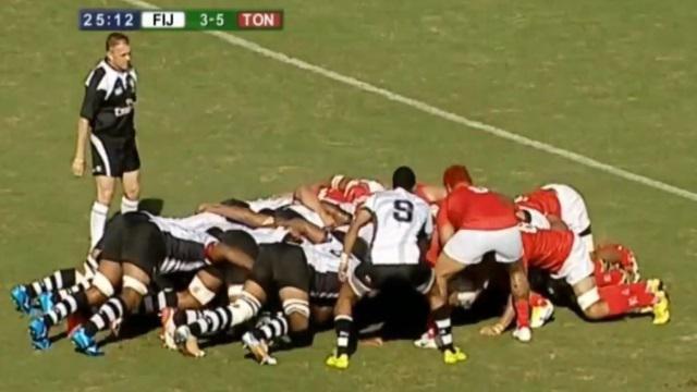 VIDEO. Pacific Nations Cup : la mêlée des Fidji écrase littéralement celle des Tonga
