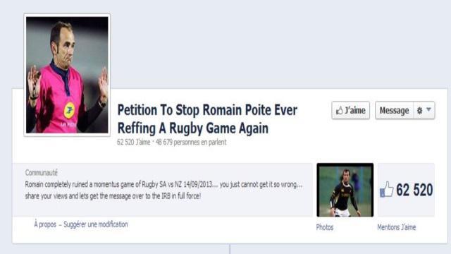 Romain Poite : lâchez-lui les baskets !