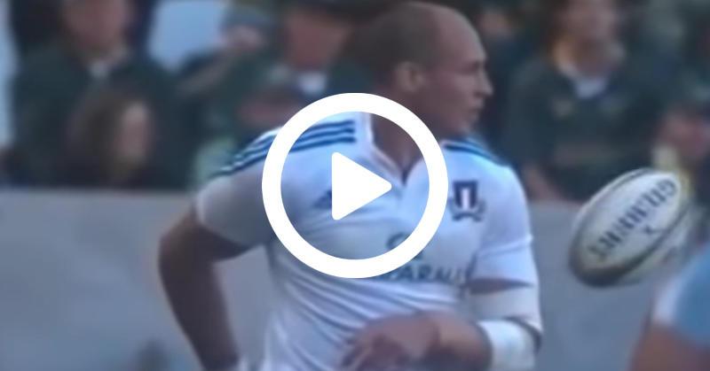 Le Top 5 des gestes techniques au rugby réalisés par Sergio Parisse [VIDÉO]