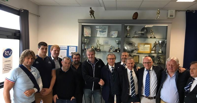 Top 14 - Partenariat Racing 92 - Vannes : ''participer au développement du rugby breton''