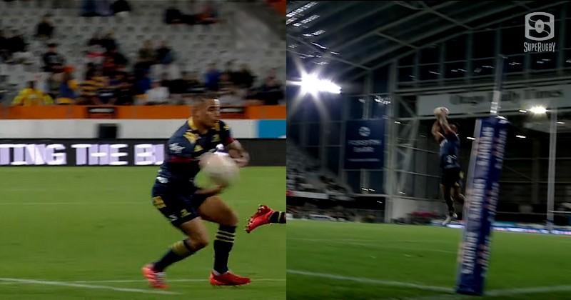 VIDEO. Super Rugby. Passe aveugle sublime, vissée de 20m, la charnière des Highlanders régale