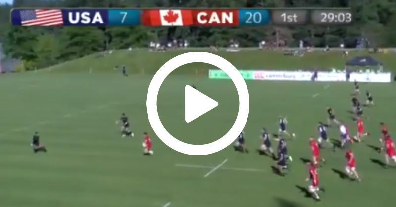 La nouvelle pépite du Stade Français fait des étincelles avec le Canada ! [VIDÉO]