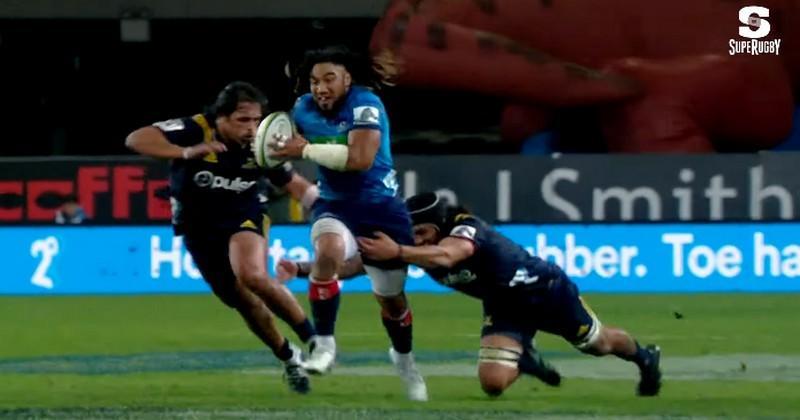 Super Rugby - Percutant, en cannes, Ma'a Nonu fait la différence pour les Blues [VIDÉO]