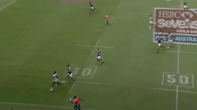 VIDEO. Perry Baker, la nouvelle fusée du rugby à 7 américain