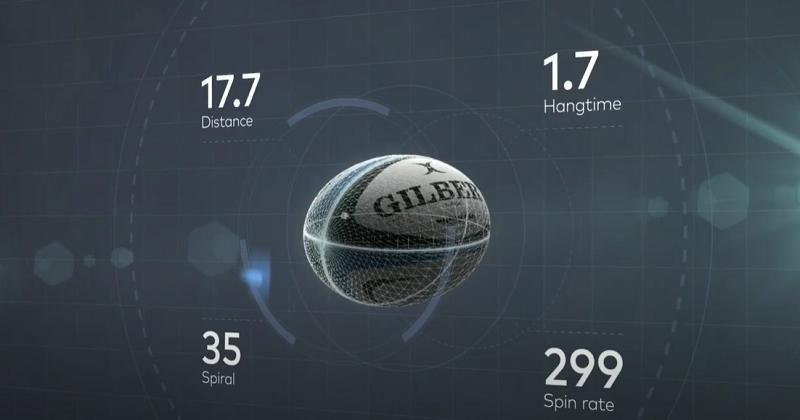 Personne n'en parle... mais le premier ballon de rugby ''intelligent'' fait ses débuts